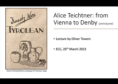 Oliver Towers - Alice Teichtner from Vienna to Denby