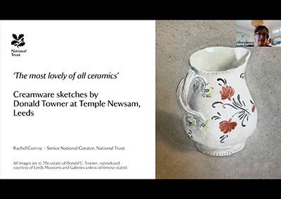 Rachel Conroy - Creamware sketches by Donald Towner