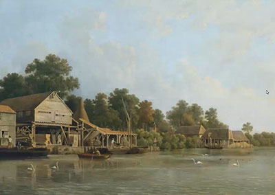 Paul Crane - Chelsea - The Triangle and Raised Anchor Period